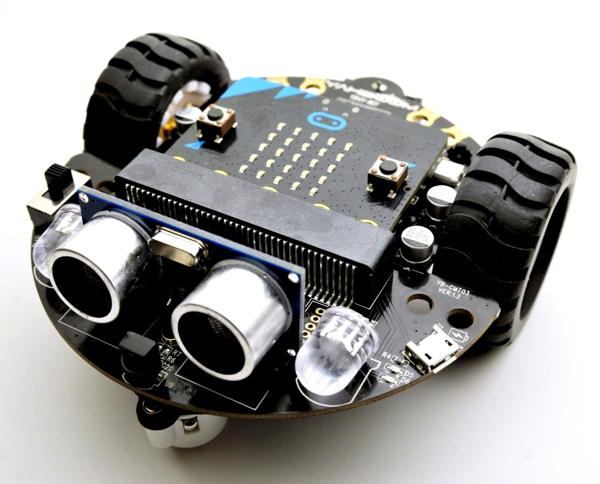 図5-9-2-8.Tiny:bit smart robot carの完成