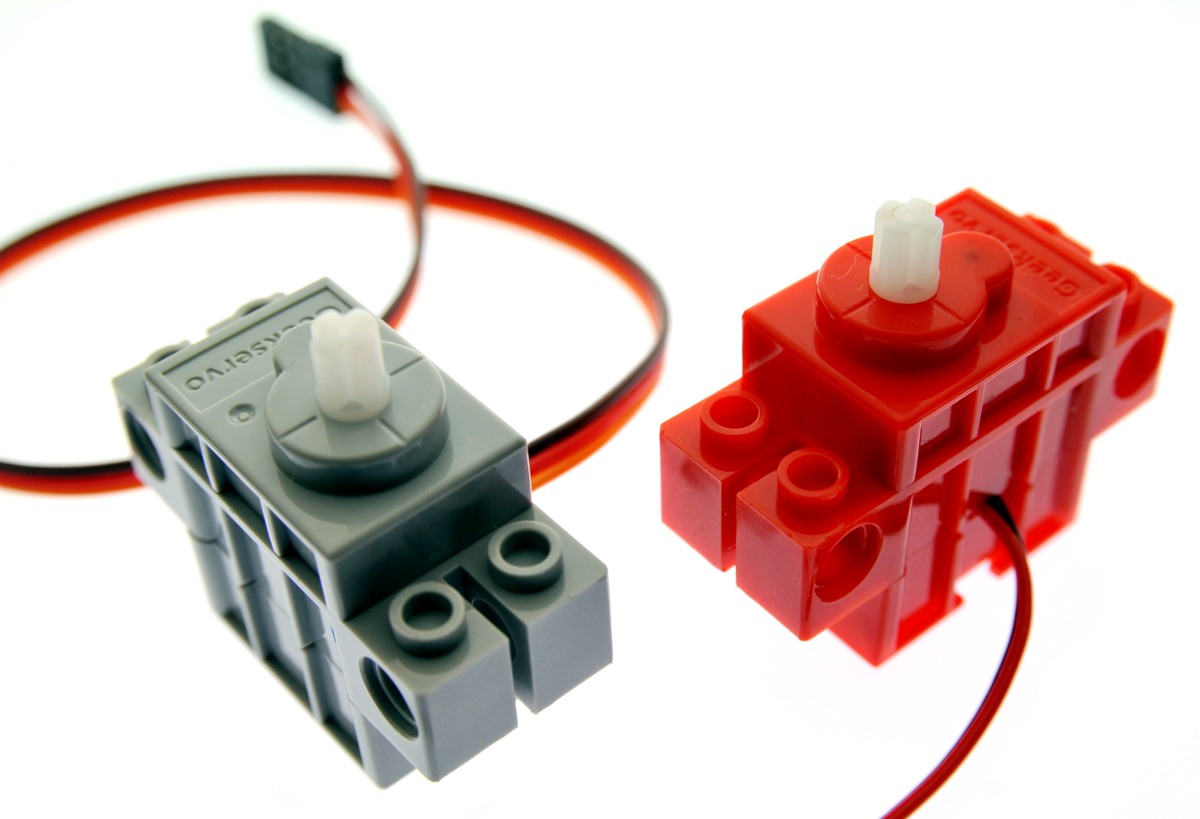 Red motor/Gray servo
